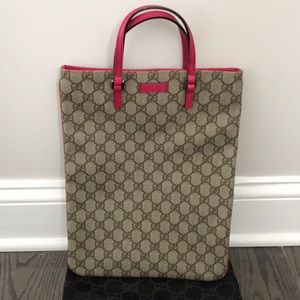 00d8eb5afbbb ... Gucci Tote (wrist or hand held)